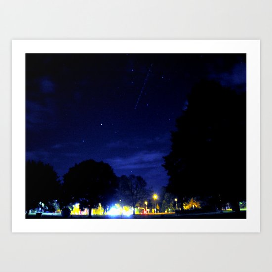 night space. Art Print