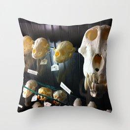baboon bones Throw Pillow