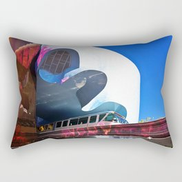 Seattle Center Monorail Rectangular Pillow