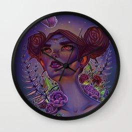 Daydreaming at Nighttime Wall Clock