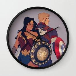 Diana & Steve Wall Clock