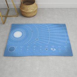 Solar System Cool Rug