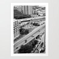 New York - Brooklyn Streets 2 Art Print