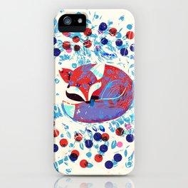 Berry fox - nostalgic iPhone Case