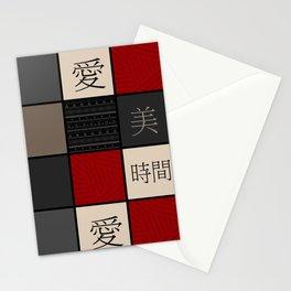 Beauty , love , life Stationery Cards