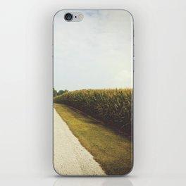Indiana Corn Field Summers iPhone Skin