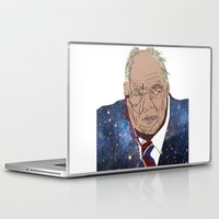 patrick Laptop & iPad Skins featuring Patrick Moore by ochre7