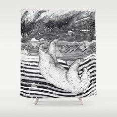 AWAKE & DREAMING Shower Curtain