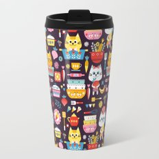 Kitchen Cats Travel Mug