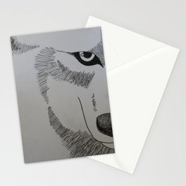 Wolf's Rain Drawing Stationery Cards