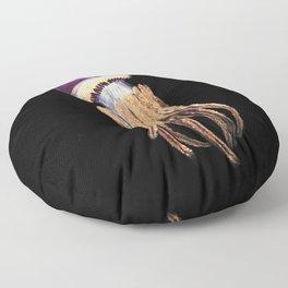 Purple Rope Jellyfish Floor Pillow