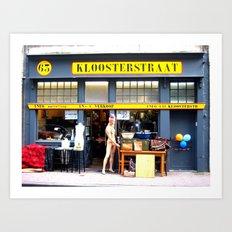 Kloosterstraat Art Print