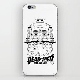 dead men tell no tale iPhone Skin