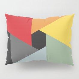 Spiraling Color Wheel Pillow Sham