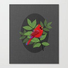 Red Cardinal Wall Print Canvas Print