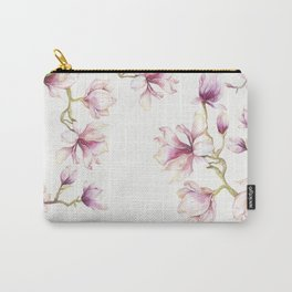 Delicate Magnolia 2 Carry-All Pouch