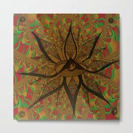 Kaleidoscope Mystique Metal Print