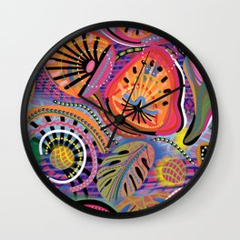 Biology of Bliss Wall Clock