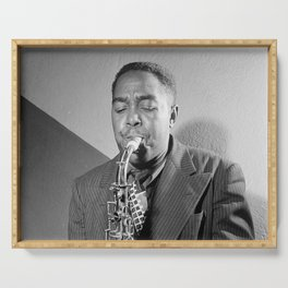 Charlie Parker - Black Culture - Black History Serving Tray
