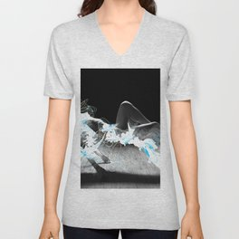liquid lev Unisex V-Neck