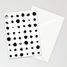 81 Attempts (black) Stationery Cards