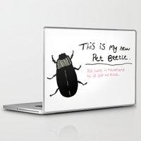 beetle Laptop & iPad Skins featuring Beetle by Laura Tucker