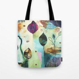"""Abundance"" Original Painting by Flora Bowley  Tote Bag"