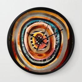 Portal III Collage Wall Clock