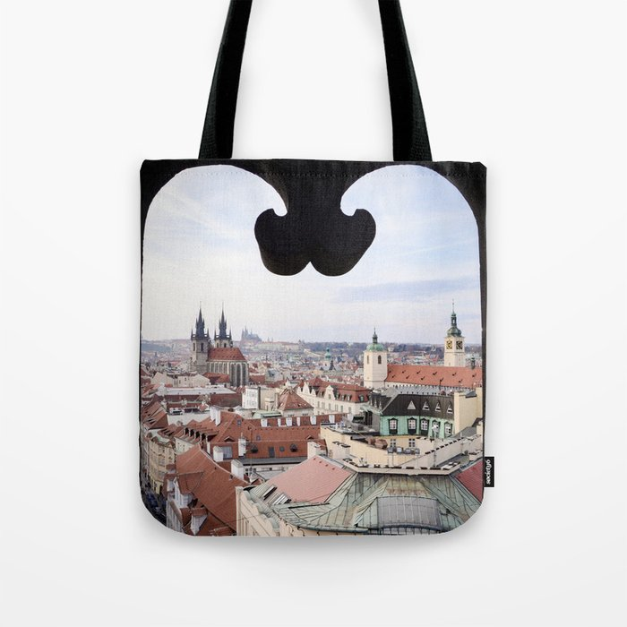 Window to Prague Tote Bag