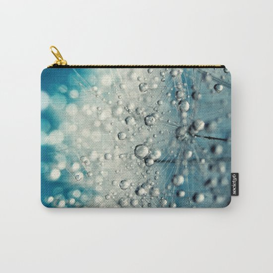 Dandy Blue & Drops Carry-All Pouch