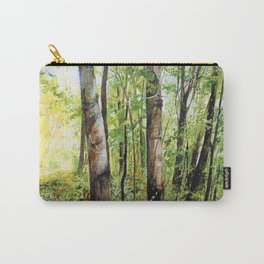 Forest Woods Vermont Landscape Carry-All Pouch