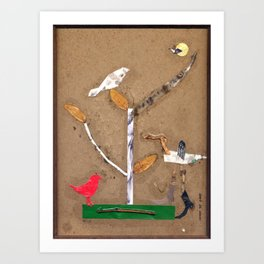 Birdland No. 1 Art Print