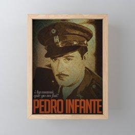 Pedro Infante Framed Mini Art Print