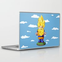 gnome Laptop & iPad Skins featuring Gnome Sayan by Nate Galbraith
