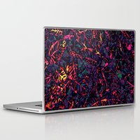 marx Laptop & iPad Skins featuring Flora Celeste Purple Amethyst by Meteora