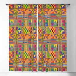 Kente Inspired Blackout Curtain