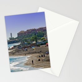 Penoncillo Beach Torrox Costa Spain Stationery Cards