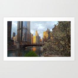 Chicago Spring Art Print