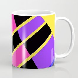 Block abstract bold design bright colors Coffee Mug