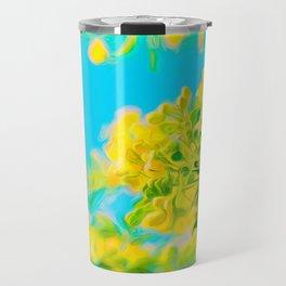 Springtime Cassia Tree Travel Mug