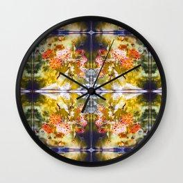 Marigold Photographic Pattern #1 Wall Clock