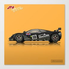 McLaren F1 GTR #01R - 1995 Le Mans Winner Canvas Print