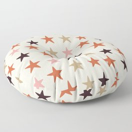 Star Pattern Color Floor Pillow