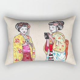 Geishas Rectangular Pillow