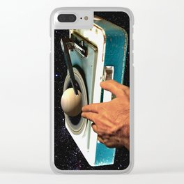 The DJ's Guide to the Galaxy Clear iPhone Case