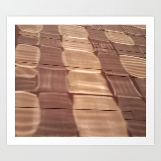 MARBLE GLARE Art Print