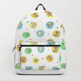 cute animals shaking butts after swimmig, summer is here yay! Backpack