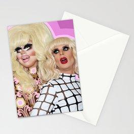 Trixie Mattel and Katya Zamolodchikova Stationery Cards