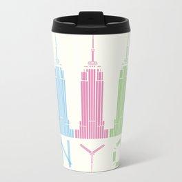 NYC Metal Travel Mug