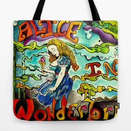 Alice in Wonderbra  Tote Bag